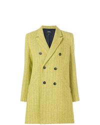 Abrigo amarillo de A.P.C.