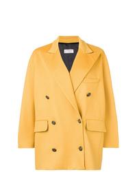 Abrigo amarillo de Alberto Biani