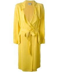 Abrigo amarillo de Forte Forte