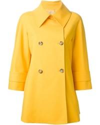Abrigo amarillo de Michael Kors