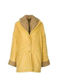 Abrigo amarillo de Romeo Gigli Vintage