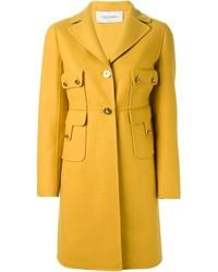 Abrigo amarillo de Valentino