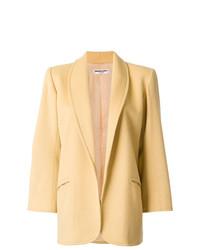 Abrigo amarillo de Yves Saint Laurent Vintage