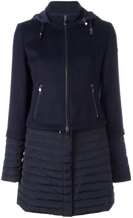 Abrigo Azul Marino de Armani Jeans
