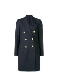 Abrigo azul marino de Brunello Cucinelli