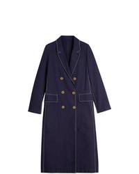 Abrigo Azul Marino de Burberry