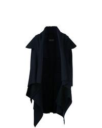 Abrigo azul marino de Comme Des Garçons Vintage
