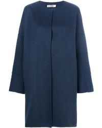 Abrigo azul marino de Jil Sander