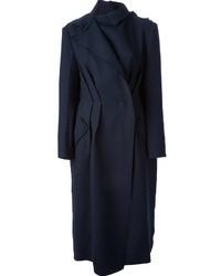 Abrigo Azul Marino de Lanvin
