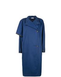 Abrigo azul de Versace Vintage