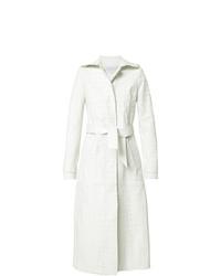Abrigo blanco de Gabriela Hearst