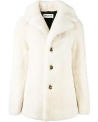 Abrigo Blanco de Saint Laurent