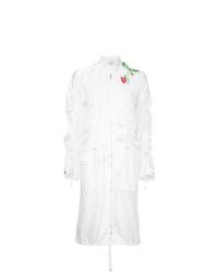 Abrigo bordado blanco