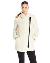 Abrigo de angora blanco de Andrew Marc