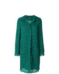 Abrigo de encaje verde de Dolce & Gabbana