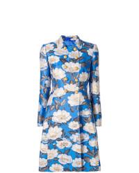 Abrigo de Flores Celeste de Dolce & Gabbana