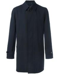 Abrigo de lana azul marino de Ermenegildo Zegna
