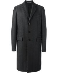 Abrigo de lana en gris oscuro de Givenchy