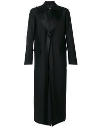Abrigo de lana negro de DSQUARED2