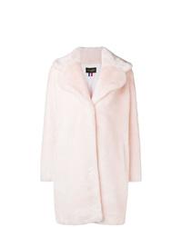 Abrigo de piel rosado de La Seine & Moi