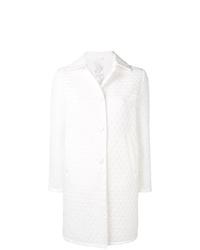 Abrigo de plumón acolchado blanco de Ermanno Scervino