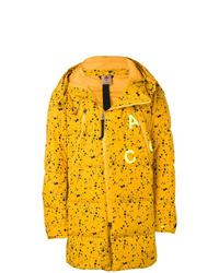 Abrigo de plumón amarillo de Nike