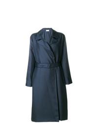 Abrigo de plumón azul marino de The Row