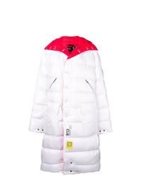 Abrigo de plumón blanco de R13