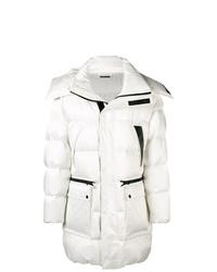Abrigo de plumón blanco de Tom Ford
