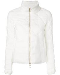 Abrigo de plumón blanco de Twin-Set