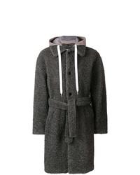 Abrigo de plumón en gris oscuro de MSGM