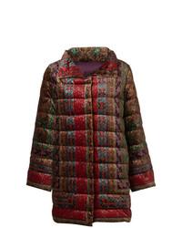 Abrigo de plumón en multicolor de Etro