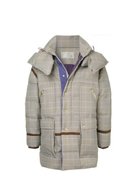Abrigo de plumón gris de A(Lefrude)E