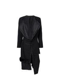 Abrigo de plumón negro de Comme Des Garçons Vintage