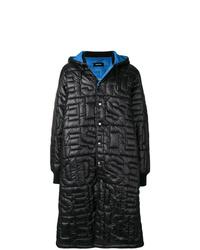 Abrigo de plumón negro de Diesel