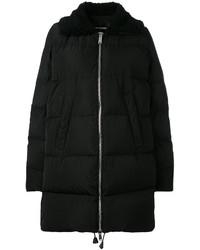 Abrigo de plumón negro de Dsquared2