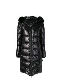 Abrigo de plumón negro de Duvetica