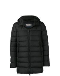 Abrigo de plumón negro de Herno