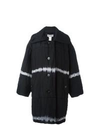 Abrigo de plumón negro de Issey Miyake Vintage