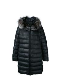 Abrigo de plumón negro de Liska