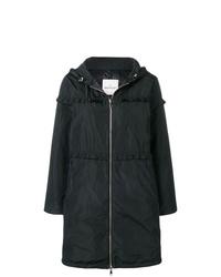 Abrigo de plumón negro de Moncler