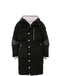 Abrigo de plumón negro de Thom Browne