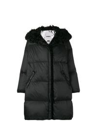 Abrigo de plumón negro de Yves Salomon Army