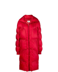 Abrigo de Plumón Rojo de Isabel Marant Etoile
