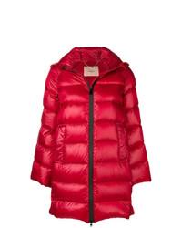 Abrigo de plumón rojo de Twin-Set