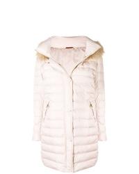 Abrigo de plumón rosado de Baldinini