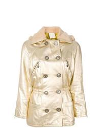 Abrigo Dorado de Versace Vintage