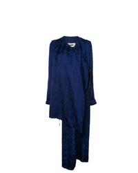 Abrigo Duster Azul Marino de Uma Wang