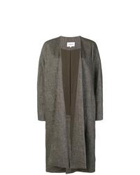 Abrigo duster en gris oscuro de Enfold