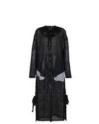 Abrigo duster negro de Faith Connexion